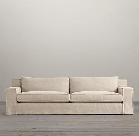8' Capri Slipcovered Sleeper Sofa
