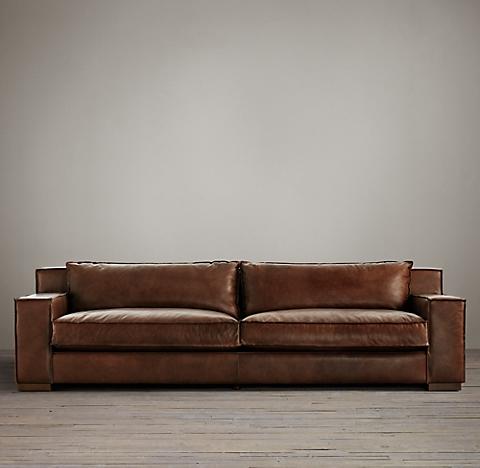 2 Depths 6 Lengths Capri Leather Sofa