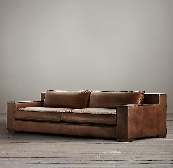 Capri Leather Sofa