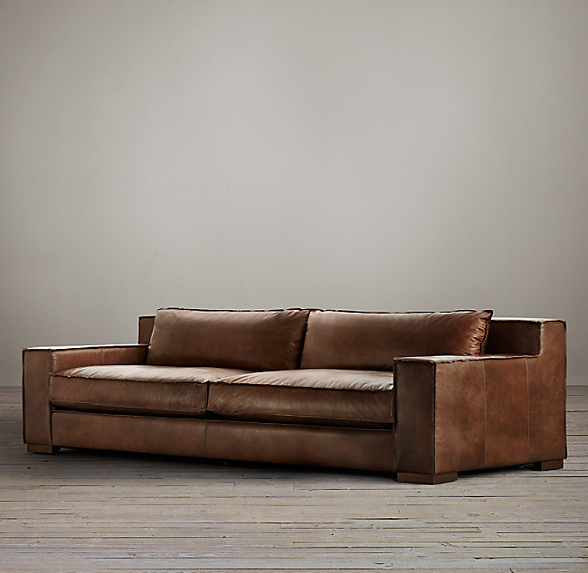 Capri sofa capri rh thesofa for Restoration hardware furniture manufacturer