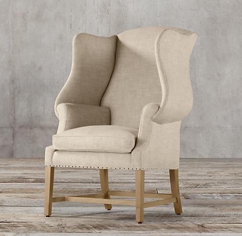 1920s Georgian Wingback Chair