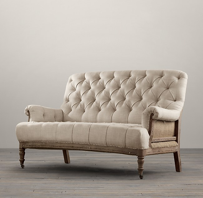 Deconstructed French Victorian Settee