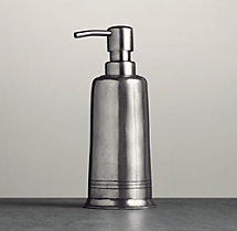 Apothecary Pewter Dispenser