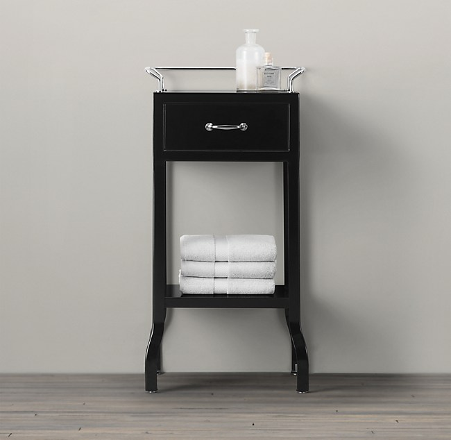 Pharmacy Small Cabinet With Single Drawer