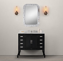 Pharmacy Single Vanity Sink