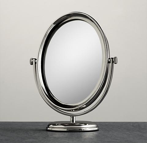 vanity mirror on stand. Beacon Vanity Mirror Countertop Mirrors  RH