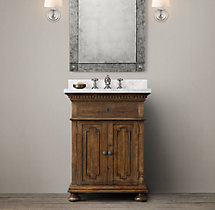 St. James Powder Room Vanity