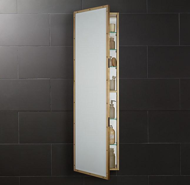 Rivet Full-Length Medicine Cabinet - Full-Length Medicine Cabinet