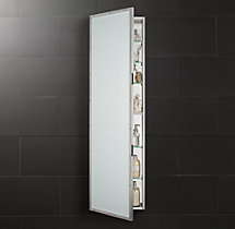 Rivet Full-Length Medicine Cabinet