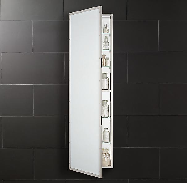 rivet full length medicine cabinet. Black Bedroom Furniture Sets. Home Design Ideas