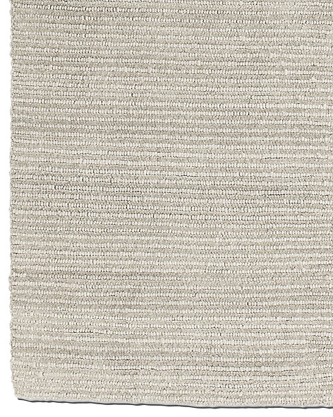 Textura Stripe Wool Rug - Grey