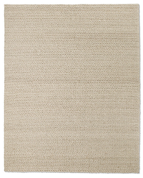 Textura Twist Wool Rug - Oatmeal
