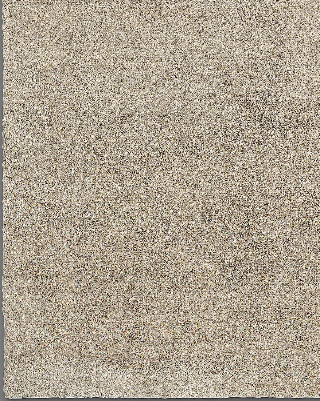 Luxe Heathered Wool Rug - Camel