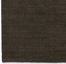 Luxe Heathered Wool Rug Swatch - Chocolate