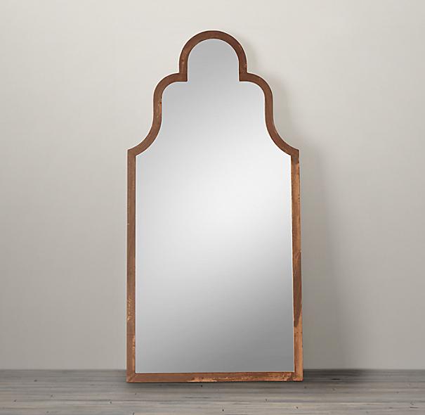 Dutch baroque leaner mirror for Baroque leaner mirror