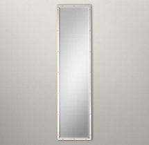 Bistro Polished Nickel Narrow Leaner Mirror