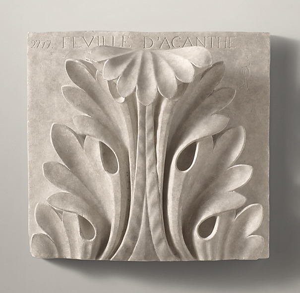 Architectural Plaster Fragments Grand Acanthus