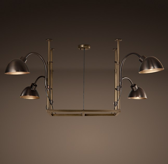 Task Chandelier Small Bronze