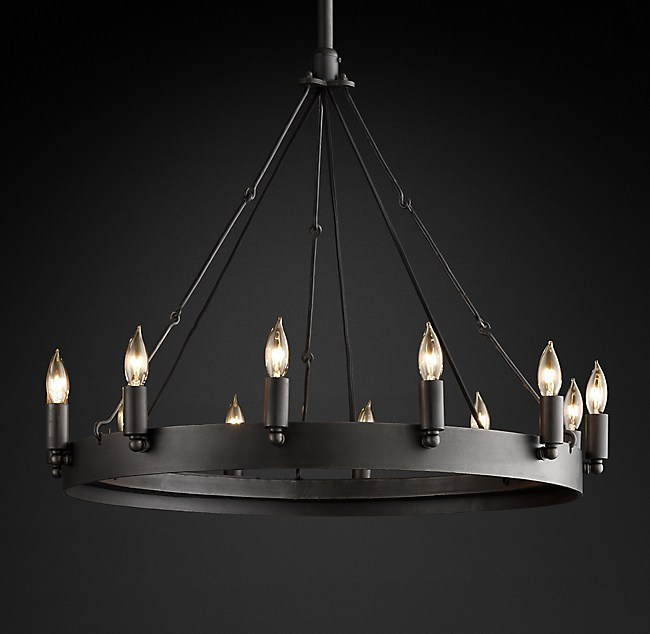 Camino vintage candelabra round chandelier 26 mozeypictures Image collections