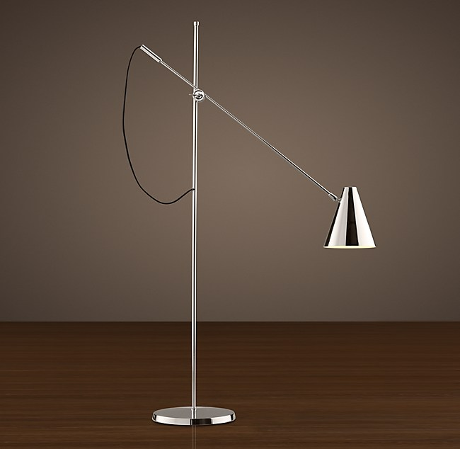 C Torpedo Task Floor Lamp - Restoration hardware floor lamps