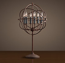 Foucault's Orb Table Lamp