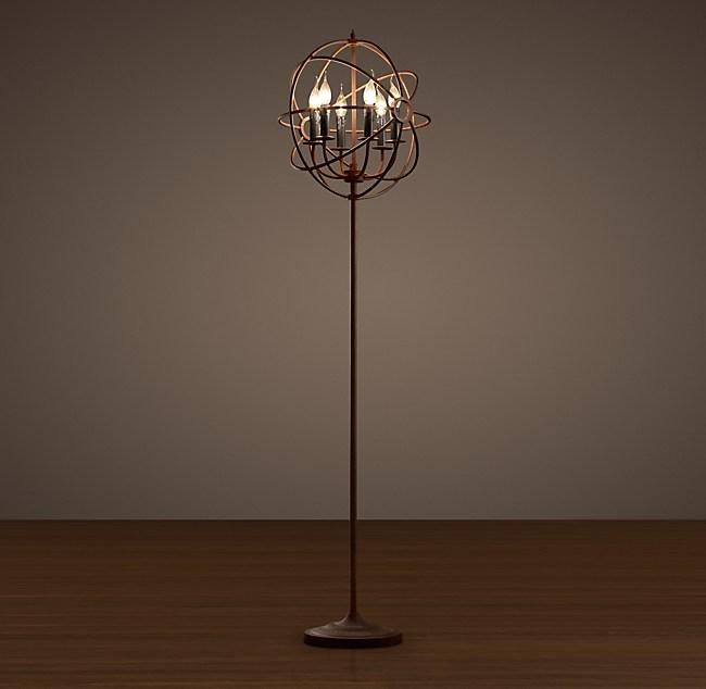 timeless design 6ab9f 0292b Foucault's Orb Floor Lamp