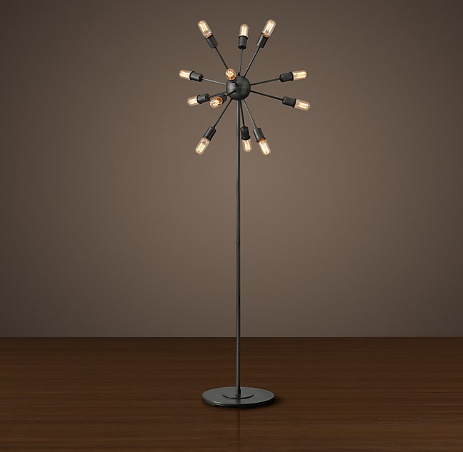 Filament floor lamp sputnik filament floor lamp aloadofball Images