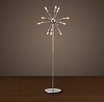 Sputnik Filament Floor Lamp
