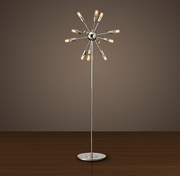 sputnik filament floor lamp. Black Bedroom Furniture Sets. Home Design Ideas