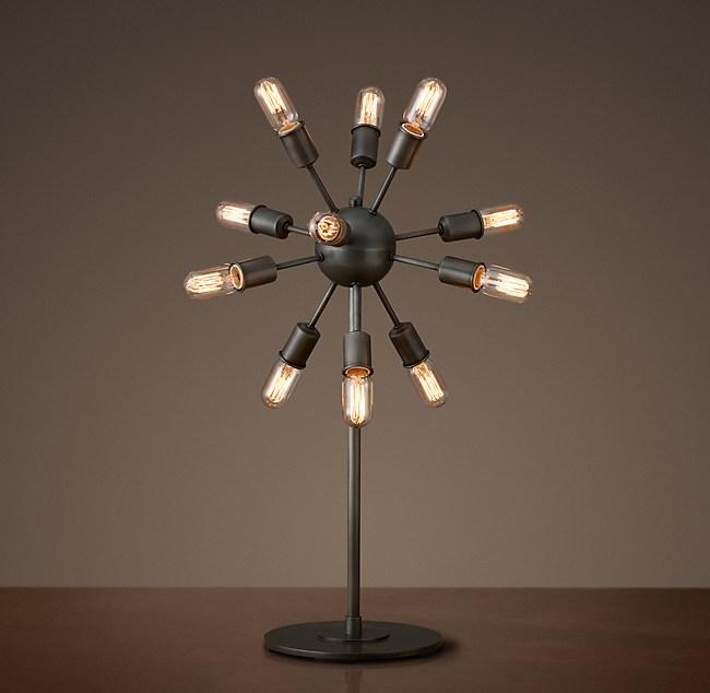Sputnik Filament Table Lamp