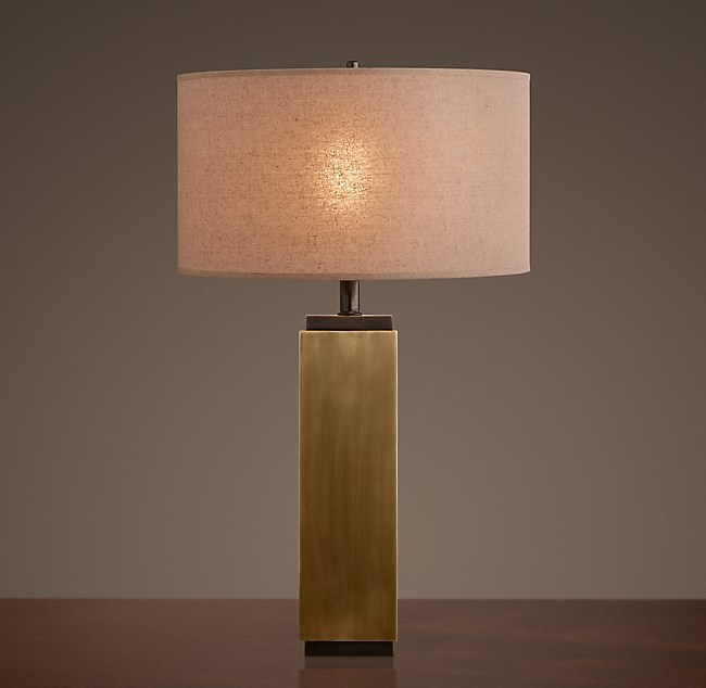 Column table lamp square column table lamp aloadofball Gallery