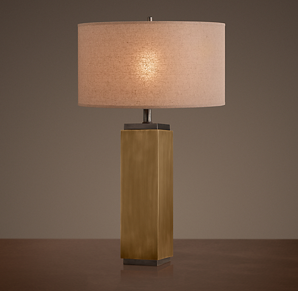 Square Column Table Lamp