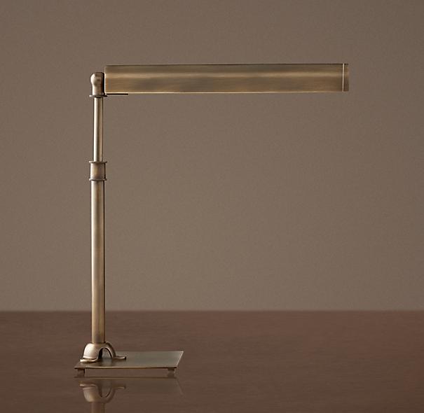 Slimline table lamp - Restoration hardware lamps table ...