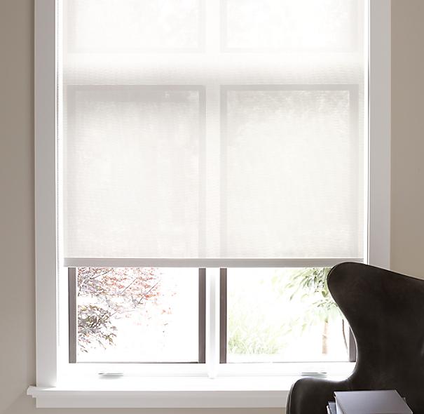 Solar shade for Restoration hardware window shades