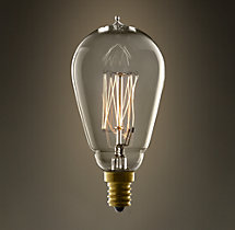 1910 Squirrel-Cage Candelabra 25W