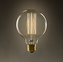 G30 Globe Squirrel-Cage Filament Incandescent Bulb