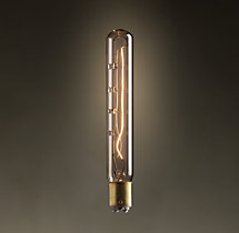 "T6.5 5"" Tube DC-Base Incandescent Bulb"