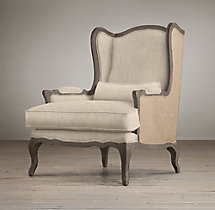 Lorraine Chair with Burlap