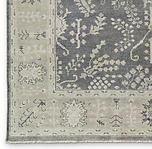 Nava Rug Swatch - Grey