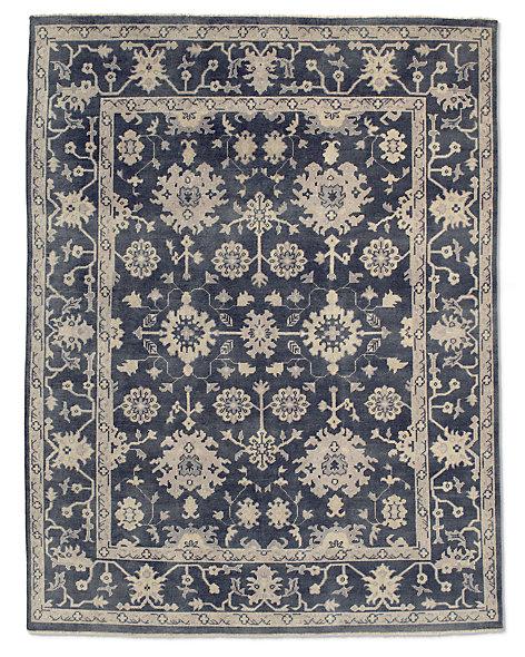 Ayara rug blue for Restoration hardware rugs on sale