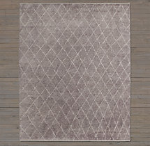 Dara Rug Swatch - Charcoal
