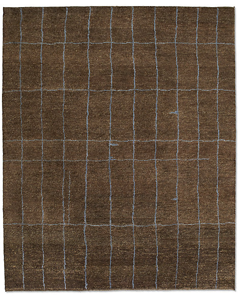 Marra Rug - Chocolate