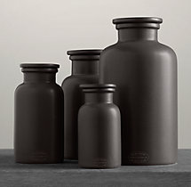 Flatiron Union Stoneware Bottles - Charcoal