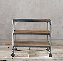 "Dutch Industrial 28"" Side Table"