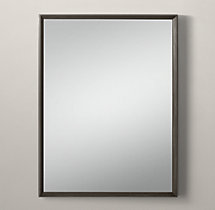 Metal Beveled Mirror