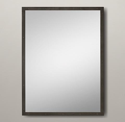 metal framed mirrors