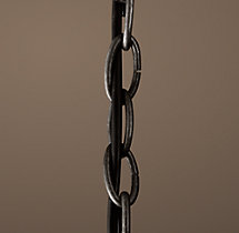 Chandelier Extension Chain Grey Iron