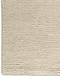 Chunky Braided Wool Rug Cream