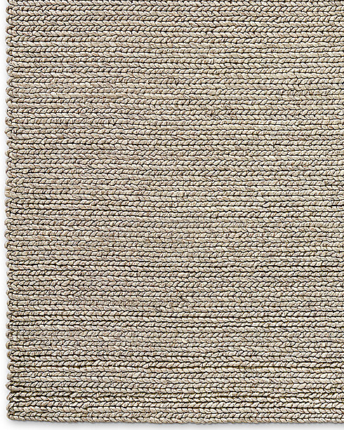 chunky braided wool rug collection | rh modern