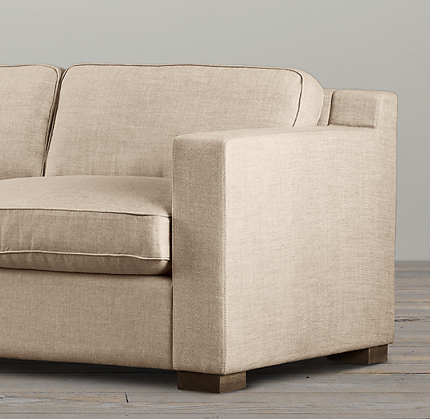 6' Collins Upholstered Sofa